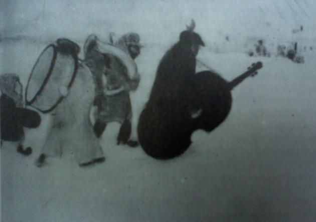 German Feferman, Jewish Musicians, pastel