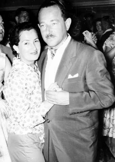 Leopold Rosner avec Helen, sa femme
