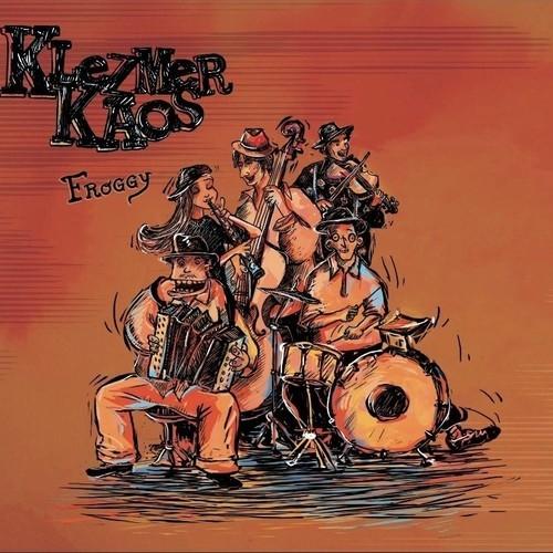 Klezmer Kaos- Couverture du premier album